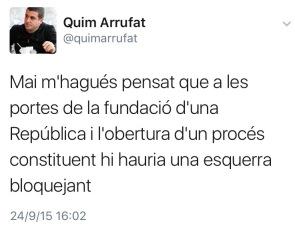 Quim Arrufat, 2015
